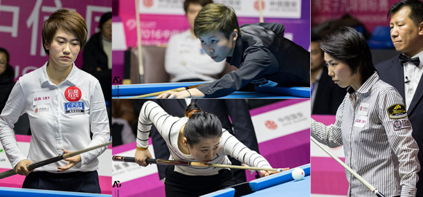 WOMENS WORLD 9-BALL CHAMPIONSHIP – DAY 3