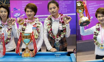 WOMENS WORLD 9-BALL CHAMPIONSHIP – FINAL