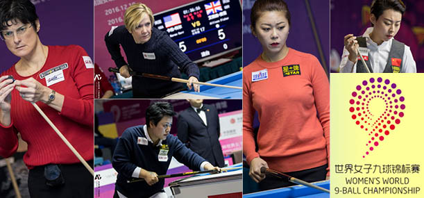 WOMENS WORLD 9-BALL CHAMPIONSHIP – Day 2