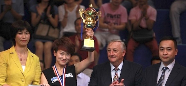 THE LADIES GO FOR GLORY THIS WEEK IN GUILIN, CHINA