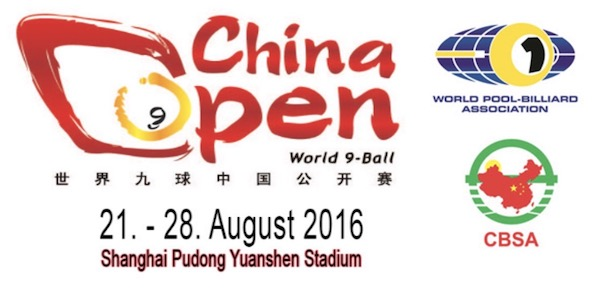 China Open single elimination commenced..