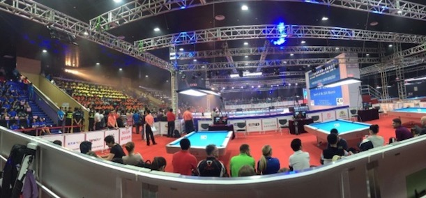 Day 1 of the China Open completed..