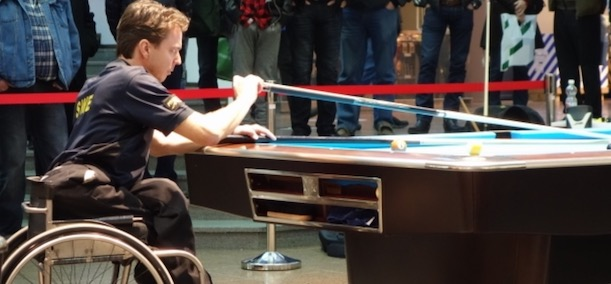 HENRICK LARSSON CLAIMS 9-BALL WORLD WHEELCHAIR TITLE