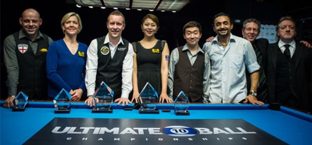 Kim and Immonen Take the Titles at the Ultimate 10-Ball Championships