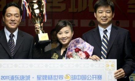 FU XIAO FANG WINS CHINA OPEN GOING AWAY
