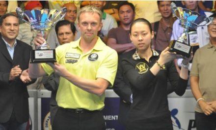 Hohmann, Chen Win Philippine Open