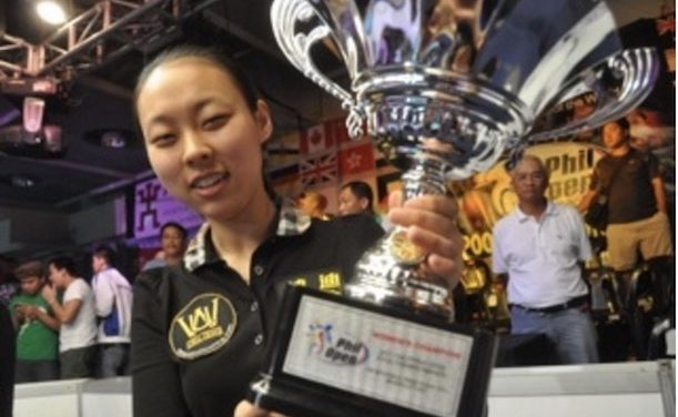 Chinese Teenager wins Philippine Open Women 's Event