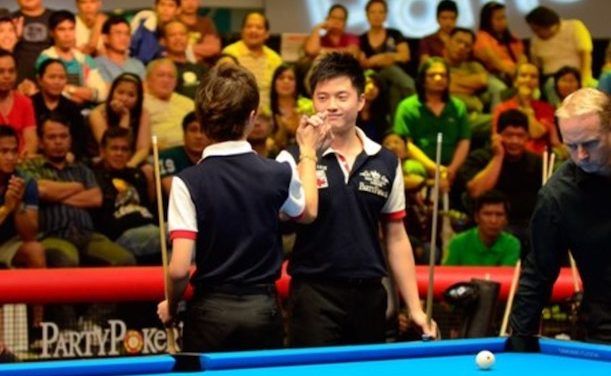 ALCANO BLOWS FINAL 8 BALL, HANDS INCREDIBLE VICTORY TO CHINESE-TAIPEI