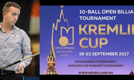 David Alcaide takes the Kremlin World Cup Trophy…