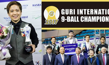 2017 Guri International 9-Ball Championship – Results