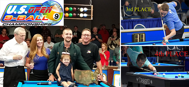 42nd U.S. Open 9-Ball Champion – JAYSON SHAW!!