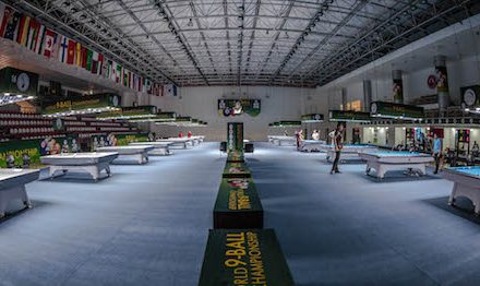 ALL SYSTEMS GO FOR WORLD 9-BALL CHAMPIONSHIP