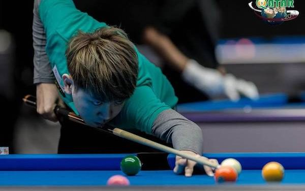 FOUR LEFT TO GO FOR WORLD 9-BALL CROWN ON THURSDAY