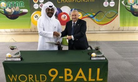 THE WORLD 9-BALL CHAMPIONSHIP TO STAY IN QATAR FOR ANOTHER FOUR YEARS
