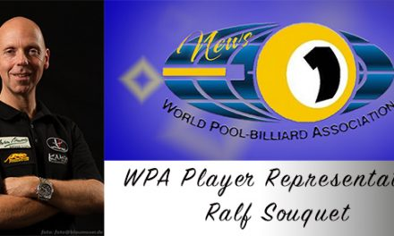 WPA Player Representative – Ralf Souquet!