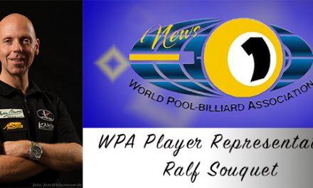WPA Player Representative – Ralf Souquet!