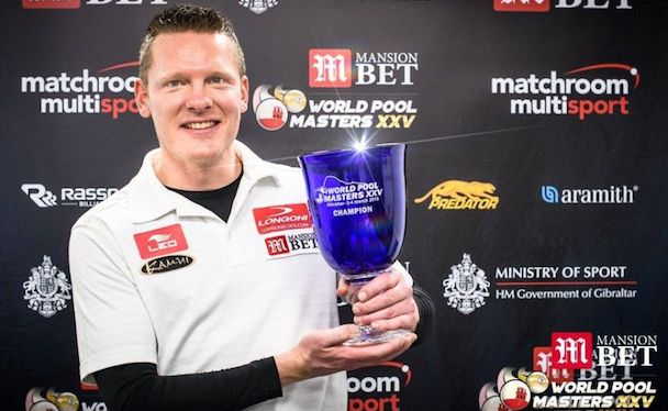 FEIJEN IS TWO-TIME MANSIONBET WORLD POOL MASTERS CHAMPION