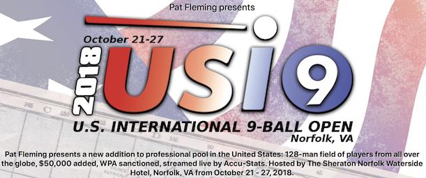 The U S  International 9-Ball Open - WPA Pool