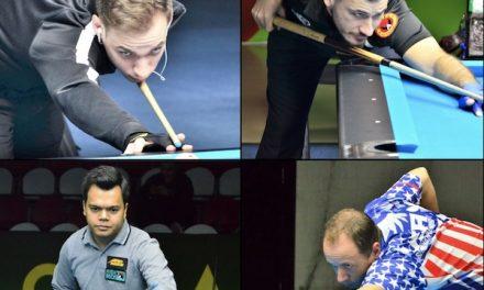 It's Biado vs. Van Boening, Filler vs. Kazakis As The 2018 World 9-ball Championship Heads To Final Day