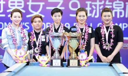 2018 Women's World 9Ball Champion – HAN YU!!