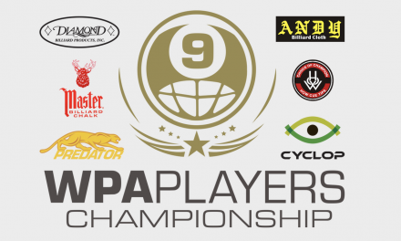 The First Stage 1 Qualifier for the WPA Players Championship is Complete