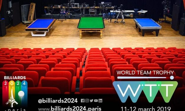 CAROM, POOL AND SNOOKER LIVE TOGETHER ON OLYMPIC CHANNEL MARCH 11-12