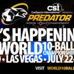 The Predator World 10-Ball Championship kicks off in Las Vegas today!!