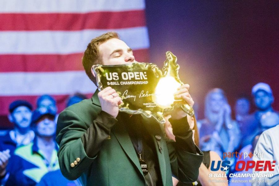 FILLER IS PARTYPOKER US OPEN 9-BALL CHAMPION