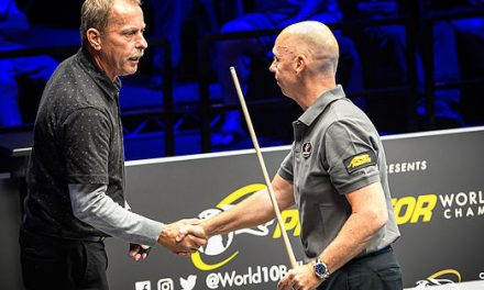 Souquet Survives Strickland and Comebacks Galore at Predator World 10-ball Championship