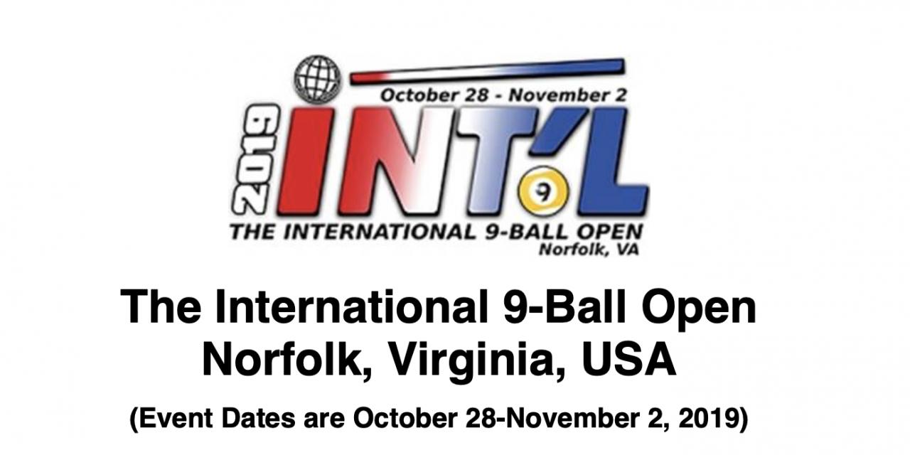 2019 International 9-Ball Open