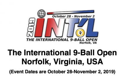 2019 International 9-Ball Open