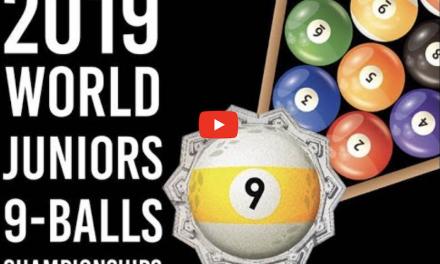 2019 WPA Cyclop Juniors World 9-Ball Championships