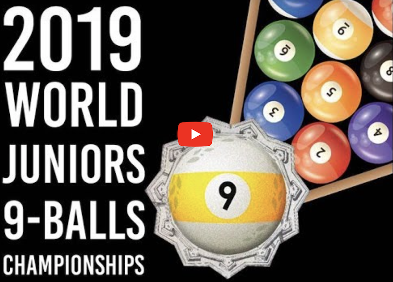 2019 WPA Cyclop Juniors World 9-Ball Championships