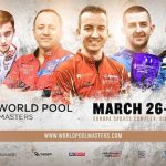 WORLD POOL MASTERS RETURNS TO GIBRALTAR, MARCH 26-29