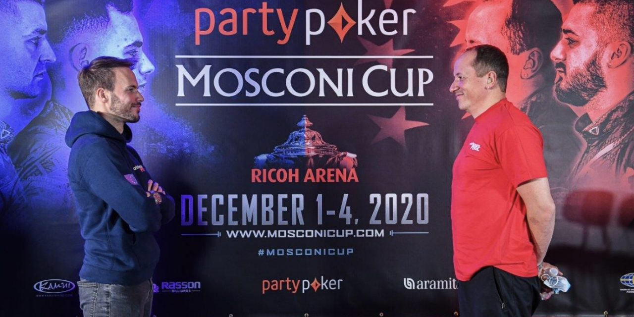 LINE-UPS ANNOUNCED FOR OPENING DAY OF PARTYPOKER MOSCONI CUP