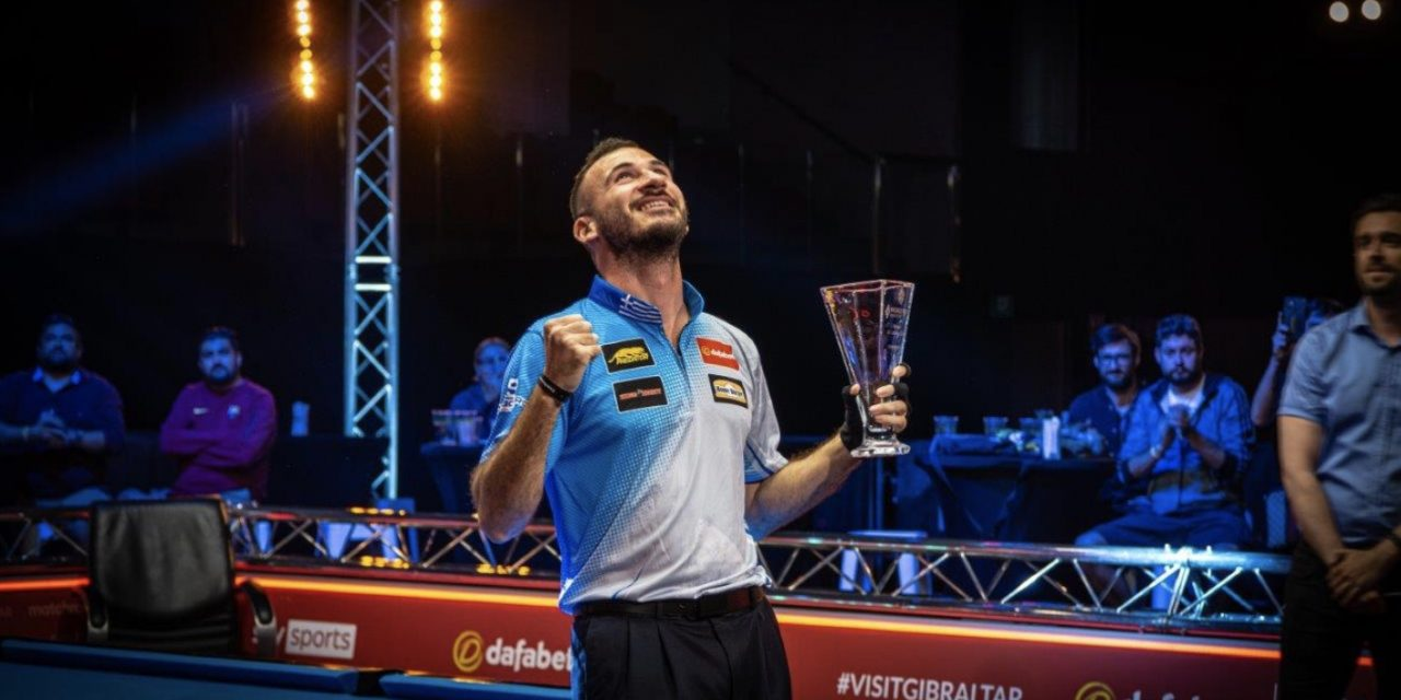 REDEMPTION FOR KAZAKIS AS HE WINS DAFABET WORLD POOL MASTERS