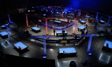 DOWN TO LAST 64 AT WORLD POOL CHAMPIONSHIP