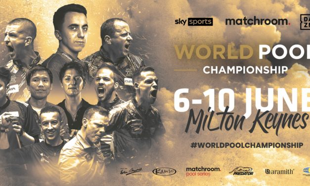 DRAW MADE FOR WORLD POOL CHAMPIONSHIP